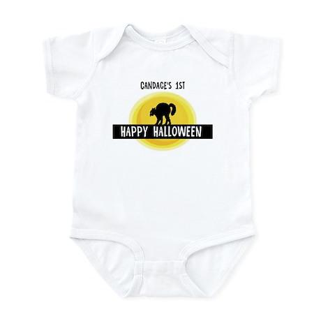 1st Halloween: Candace Infant Bodysuit