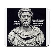 Marcus Aurelius Stoicism Mousepad