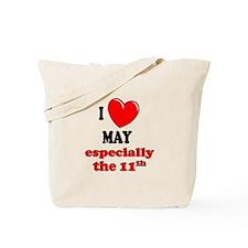 May 11th Tote Bag