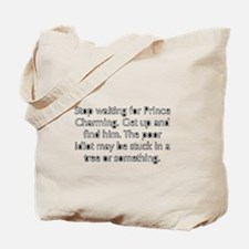 Cute Prince charming Tote Bag