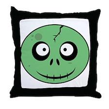 Cute Living dead Throw Pillow