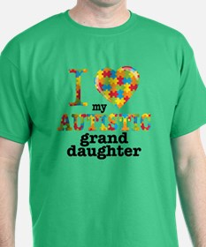 Autistic Granddaughter T-Shirt