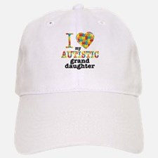 Autistic Granddaughter Baseball Baseball Cap