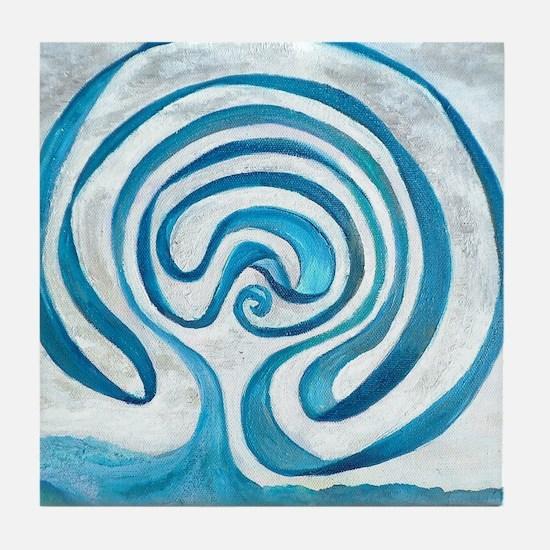Funny Ocean Tile Coaster