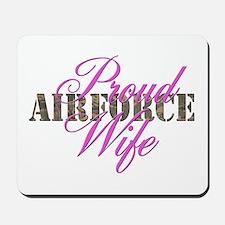 Proud Air Force Wife ABU Mousepad
