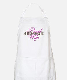 Proud Air Force Wife ABU BBQ Apron