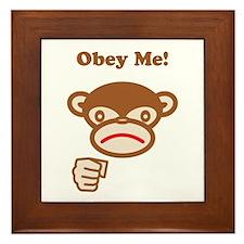 Obey Me! Framed Tile