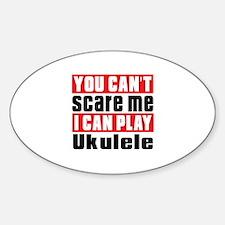 I Can Play Ukulele Decal