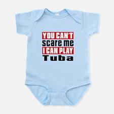 I Can Play Tuba Infant Bodysuit