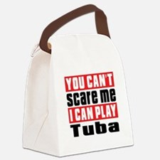 I Can Play Tuba Canvas Lunch Bag