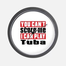 I Can Play Tuba Wall Clock