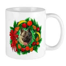 Norwegian Elkhound Christmas Mug