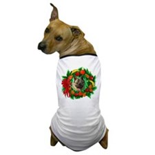 Norwegian Elkhound Christmas Dog T-Shirt