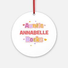 Annabelle Ornament (Round)