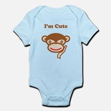 I'm Cute Infant Bodysuit