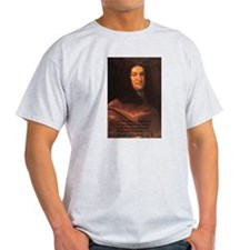 Gottfried Leibniz Metaphysics Ash Grey T-Shirt
