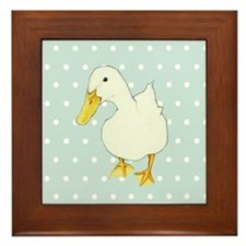 Duck Kiss Framed Tile