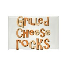 Grilled Cheese Rocks Lover Rectangle Magnet