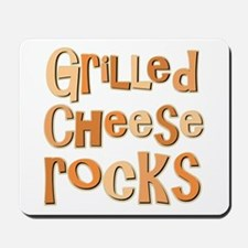 Grilled Cheese Rocks Lover Mousepad