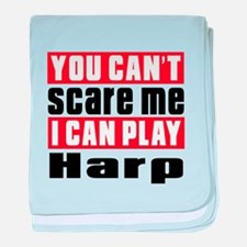 I Can Play Harp baby blanket