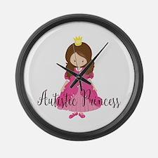 Autistic Princess Large Wall Clock