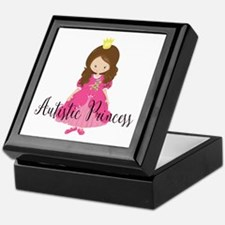 Autistic Princess Keepsake Box