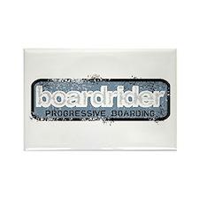 Boardrider Badge Rectangle Magnet