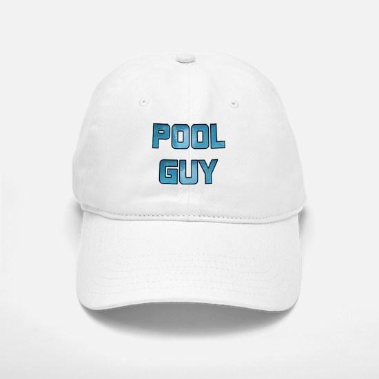 Pool Guy Baseball Cap