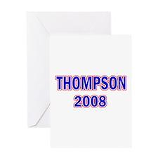 Vote Thompson 2008 Greeting Card
