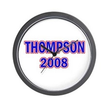 Vote Thompson 2008 Wall Clock