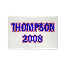 Vote Thompson 2008 Rectangle Magnet
