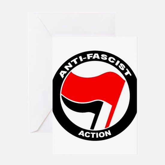 Anti-Fascist Action Greeting Cards