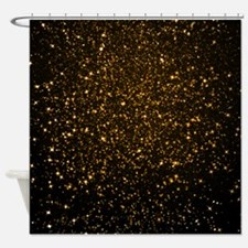 Cute Black and yellow Shower Curtain