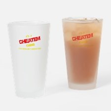 It's CHEATEM thing, you wouldn't un Drinking Glass