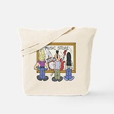 Struggling Musicians Tote Bag