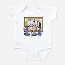Struggling Musicians Infant Bodysuit