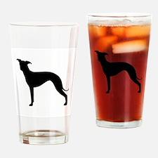 Greyhound Two 1C Drinking Glass