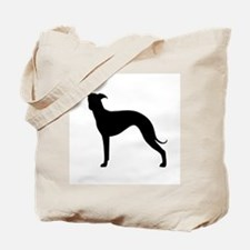 Greyhound Two 1C Tote Bag