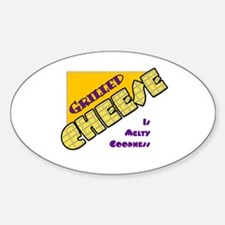 Grilled Cheese Oval Decal