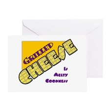 Grilled Cheese Greeting Card