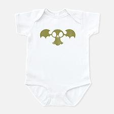 Skull Bat Retro Infant Bodysuit