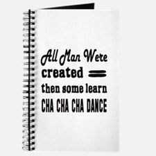 Some Learn Cha cha cha dance Journal