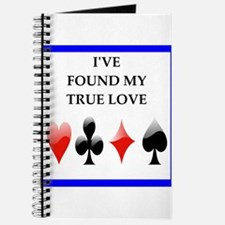 card player joke on gifts and t-shirts Journal