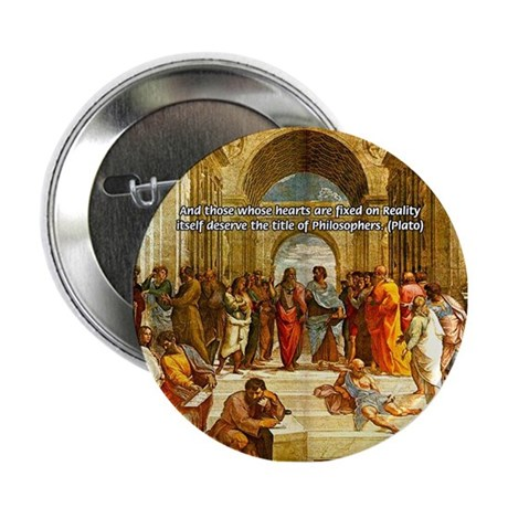 Raphael School of Athens Button
