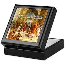 Raphael School of Athens Keepsake Box