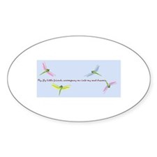 Friendships Oval Decal