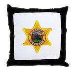 Casino Security Throw Pillow
