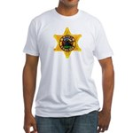 Casino Security Fitted T-Shirt