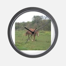 Unique Filly Wall Clock