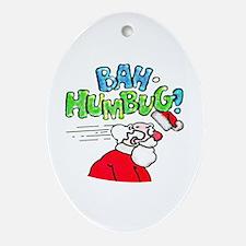Bah-Humbug! - Oval Ornament